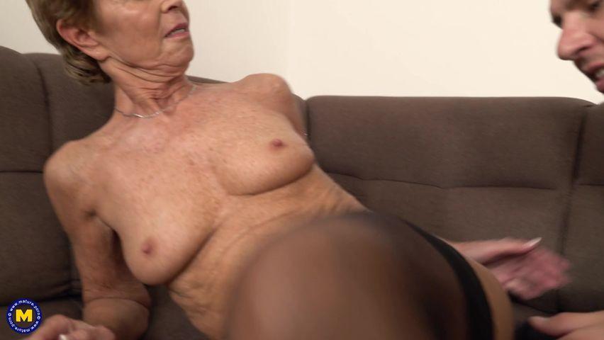 Skinny granny pics