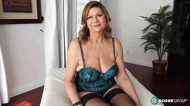 60plus gilf Brenda Douglas gives an interview